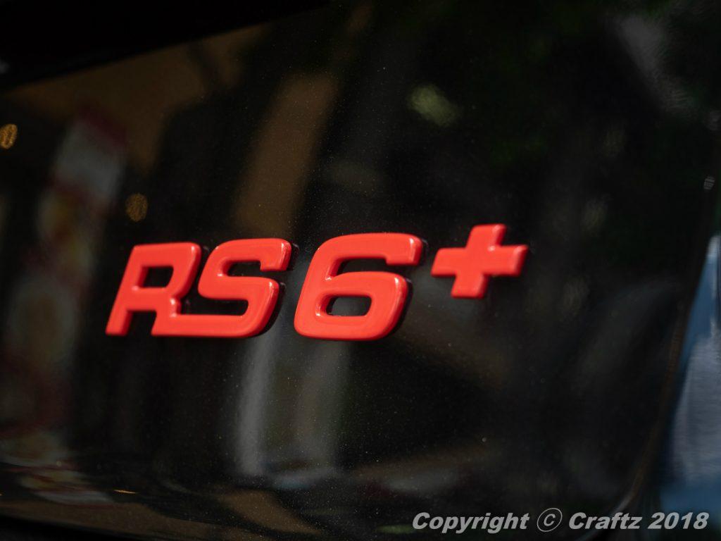 希少車 Audi RS6+ にレーダーとETC車載器!